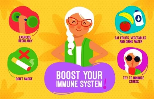 5 Cara Meningkatkan Imunitas Tubuh agar Tidak Mudah Sakit