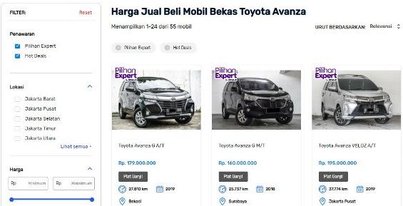 Keuntungan Beli Mobil Bekas Avanza di Seva.id